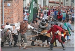 big folk festival in Stralsund: Wallenstein Days