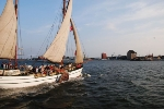 sailing trip during Seglarträff in Stralsund