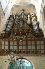 Stellwagen Organ in St. Mary´s Church in Stralsund