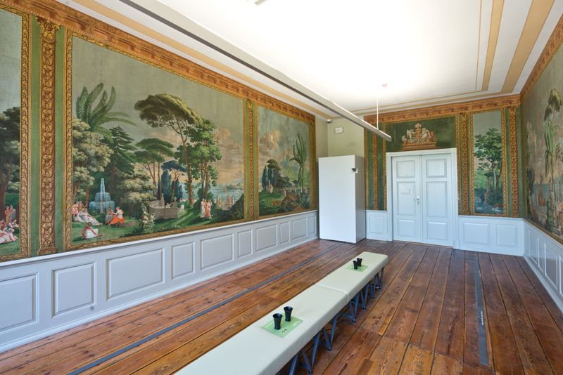 Wallpaper Room © Hansestadt Wismar, photographer: Hanjo Volster